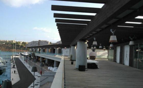 Estructuras de madera para puertos