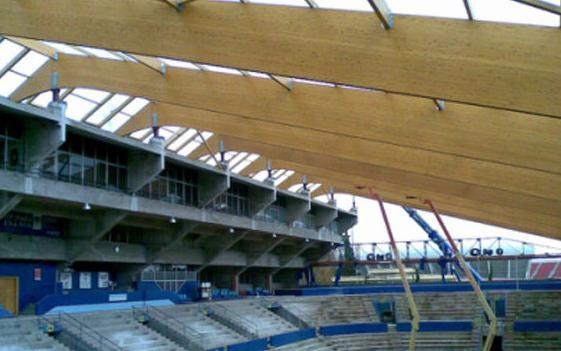 Estructuras en instalaciones deportivas