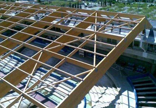 Estructuras polideportivos: Servicios y Construcciones de Montajes Orive