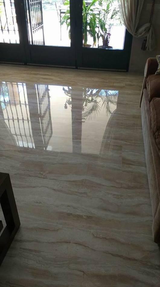 Cristalizado de suelos de mármol en Cartgena