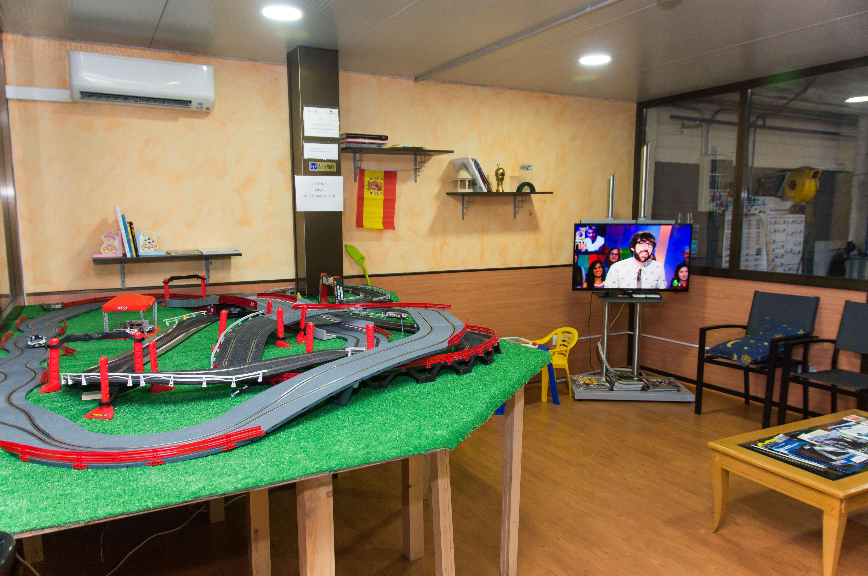 Sala de espera de nuestro taller de Valdemoro