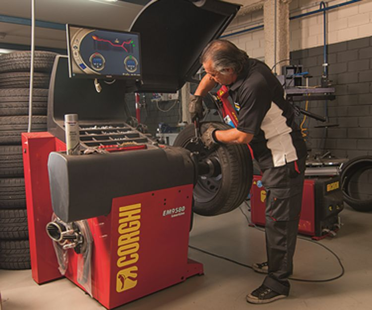 Distribuidor de neumáticos Michelin