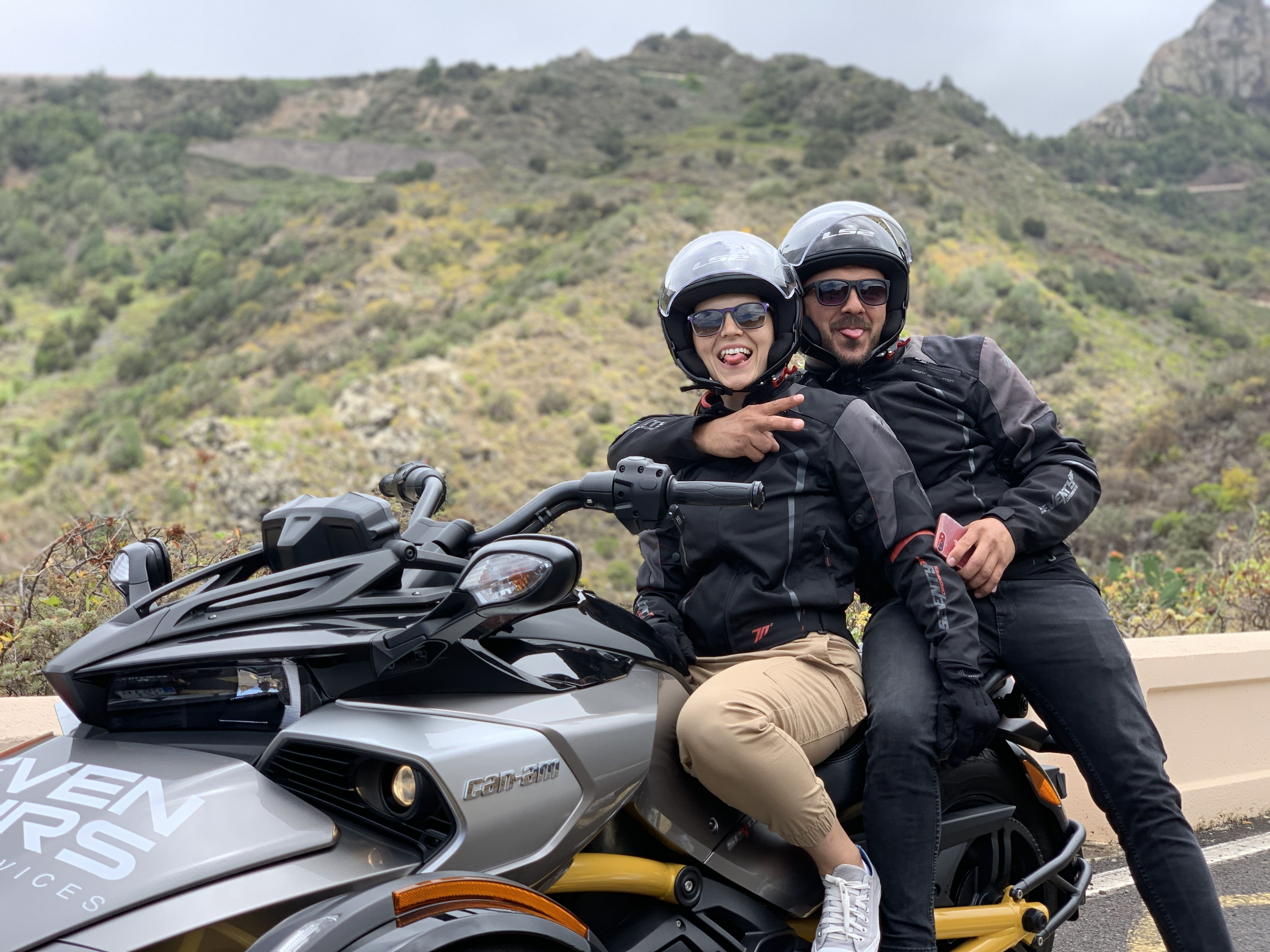 Motorcycle tours in Tenerife