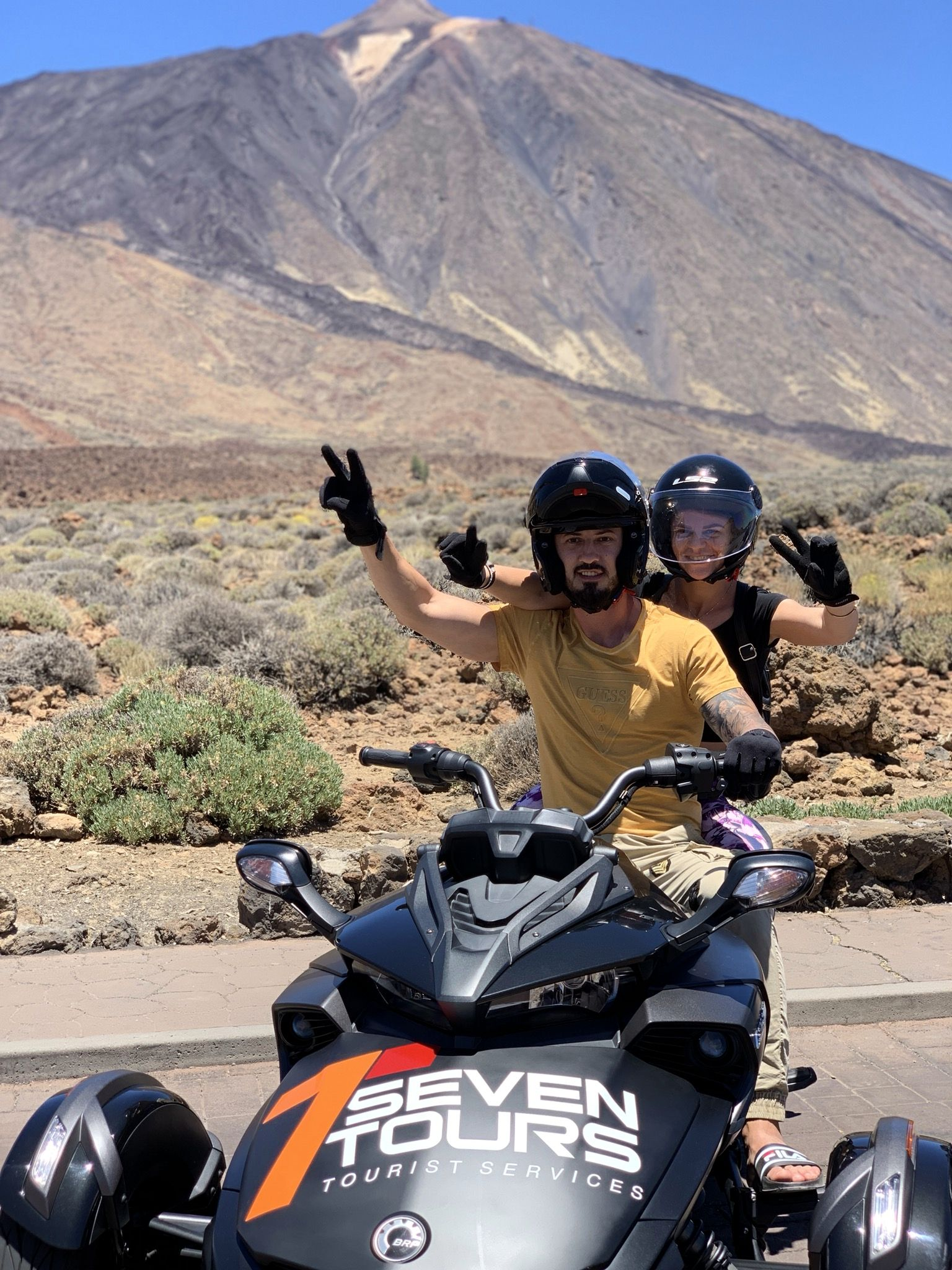The best excursions in Tenerife on three wheels