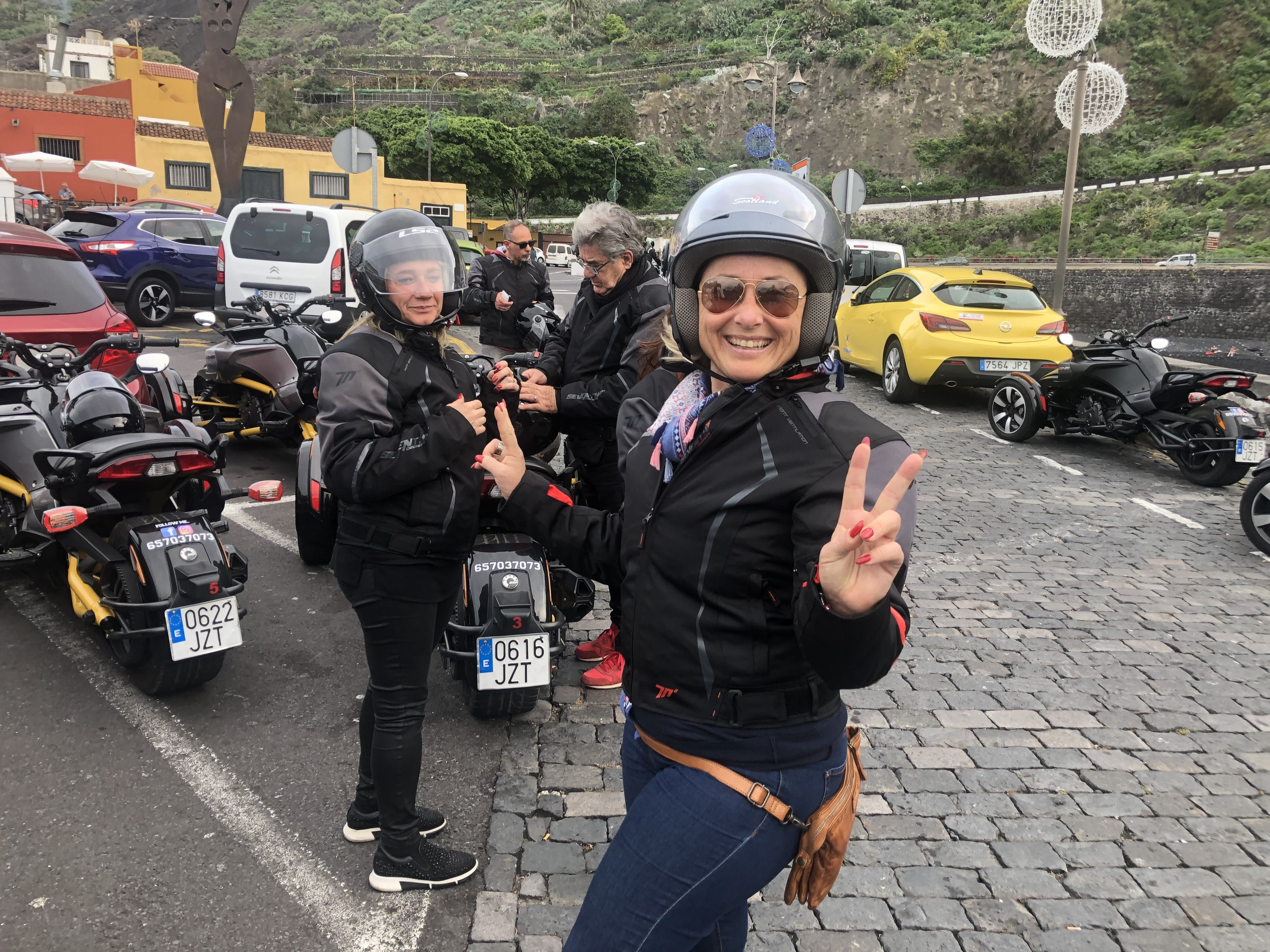 Motorcycle rental in Tenerife