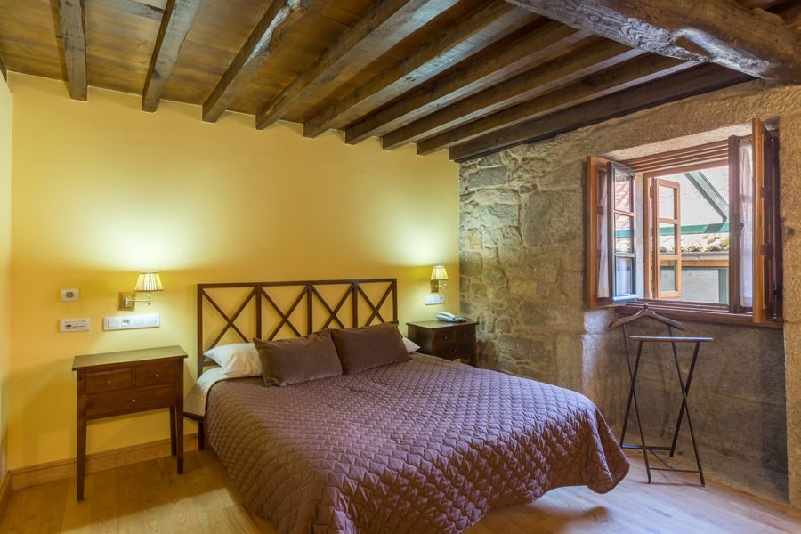Habitaciones: Hotel Restaurante de Hotel Restaurante Asador de Roxos