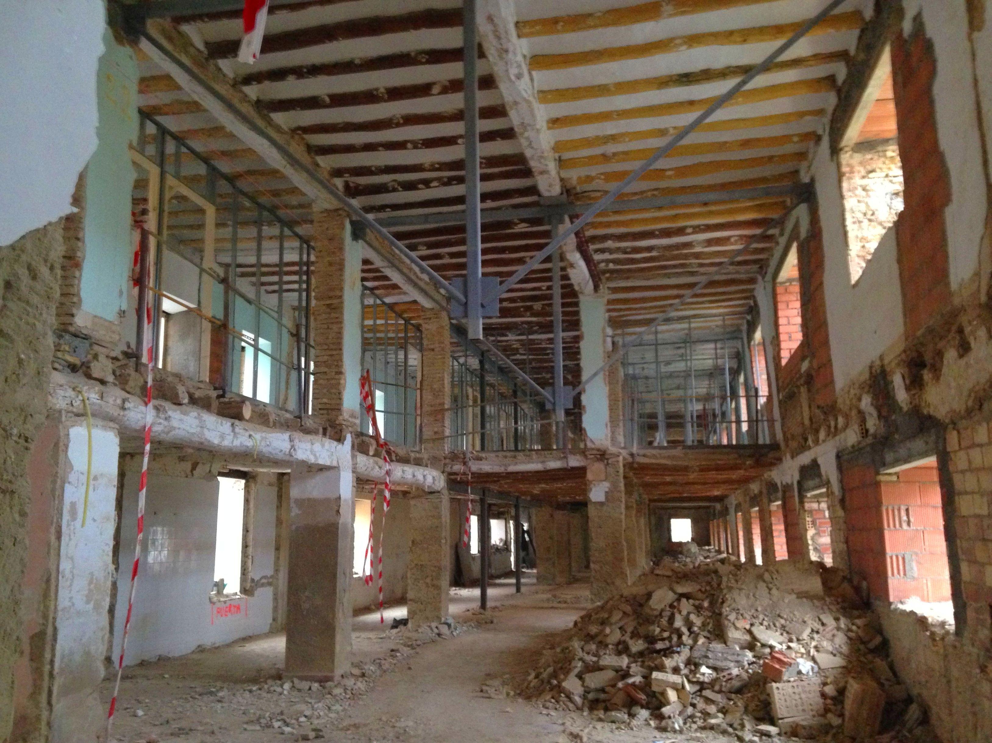reforma convento de santa clara en Huesca