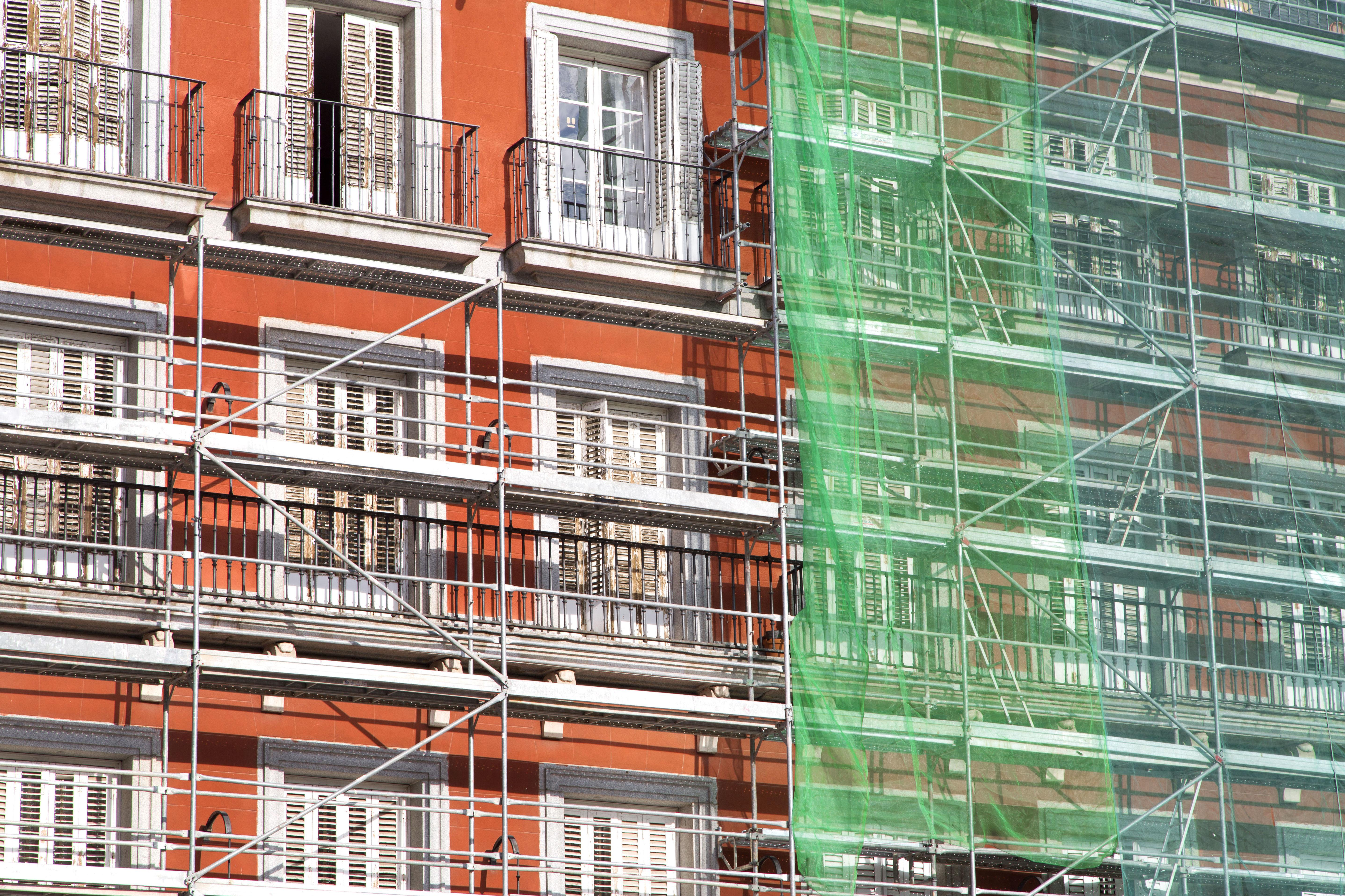 Restauración de edificios en Huesca