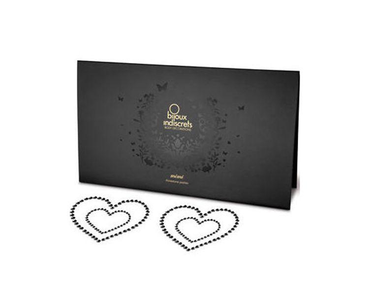 Cubrepezones Bijoux corazones súper sensual