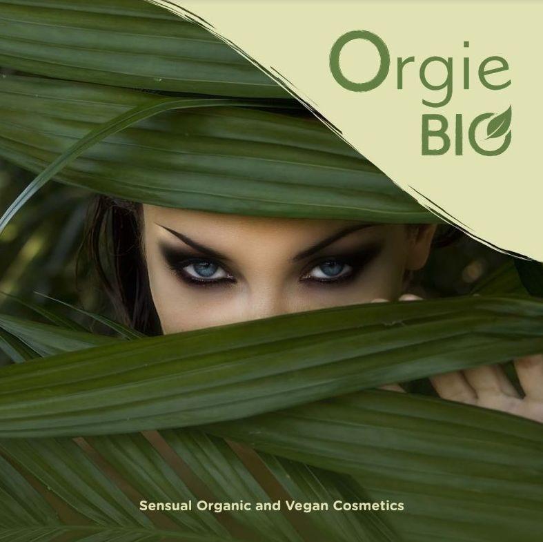 Orgie Bio, cosmética sensual 100% sin gluten, 100% vegana, 100% natural en Eroteca Orgasms