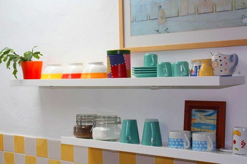 Fotos del estudio Calma, cocina con menaje de hogar