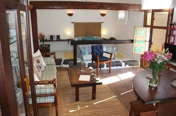 Fotos del estudio Mozaga, sala de estar y habitación
