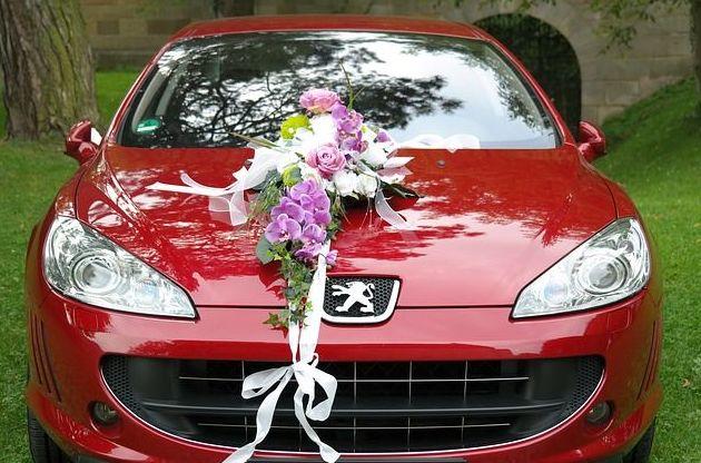 Cómo decorar el coche nupcial: Servicios  de Floristería Tías