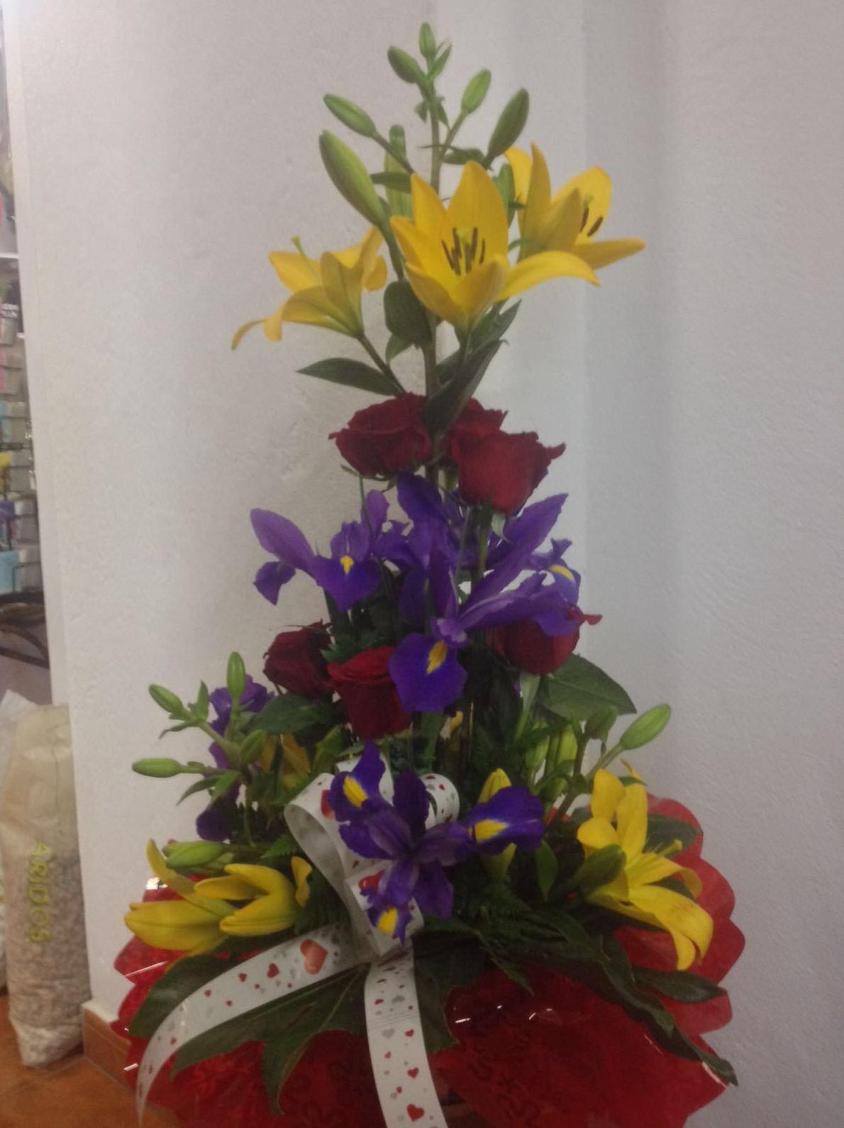 Arreglos florales para hoteles, escaparates...