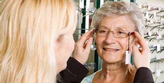 Ayudas opticas y filtros para mayores