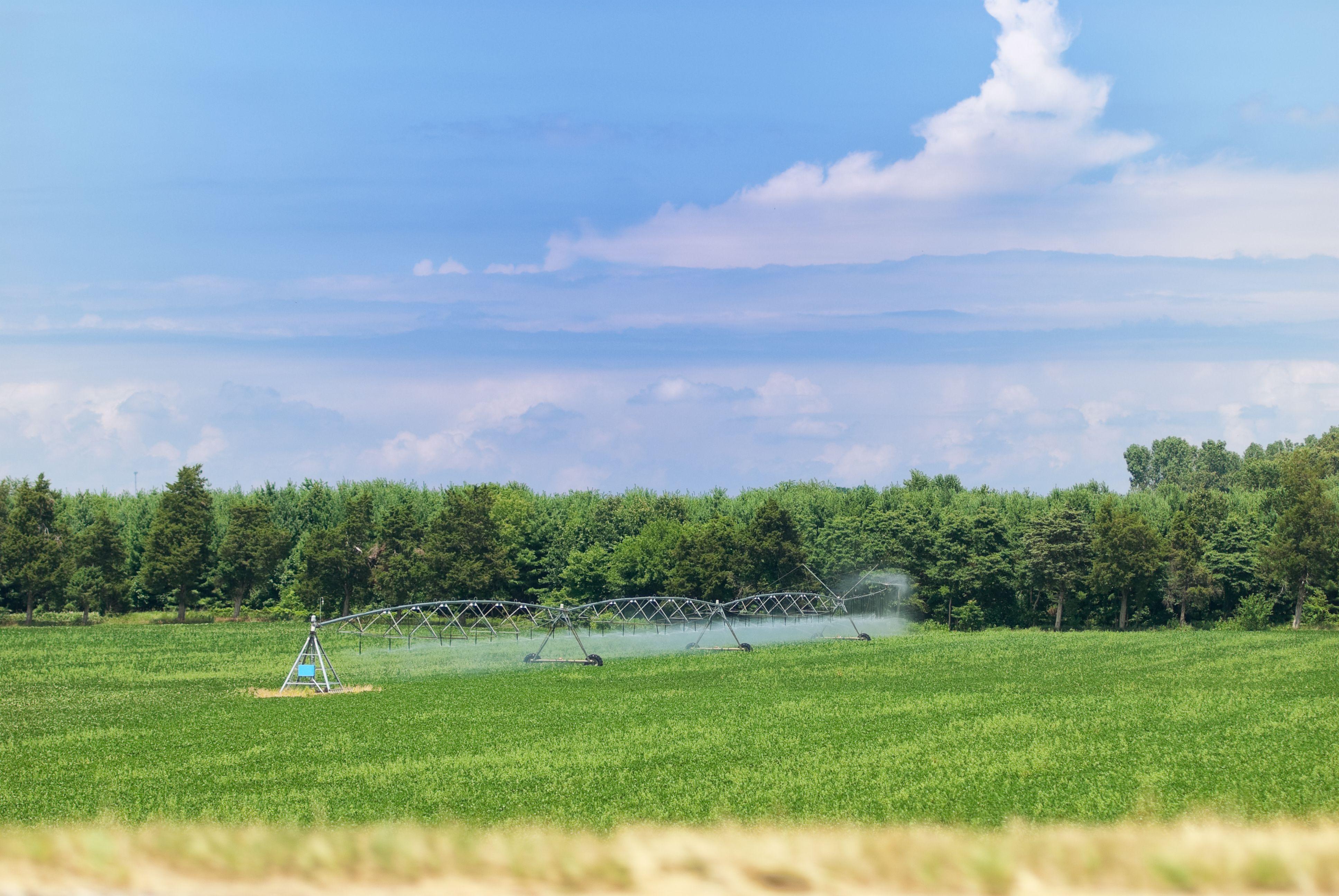 Material de riego para agricultura