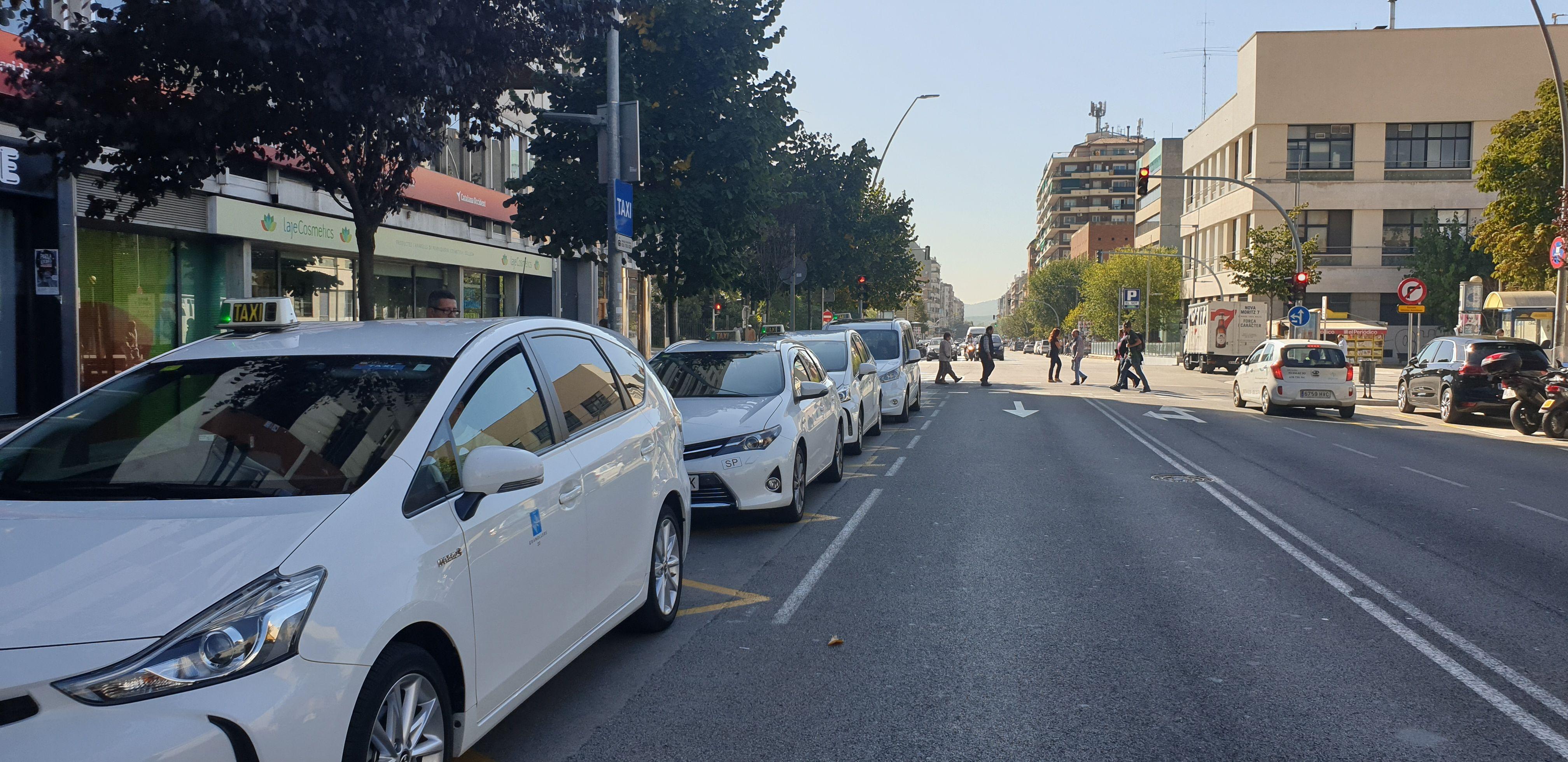 Paradas: Servicios de Taxis Granollers