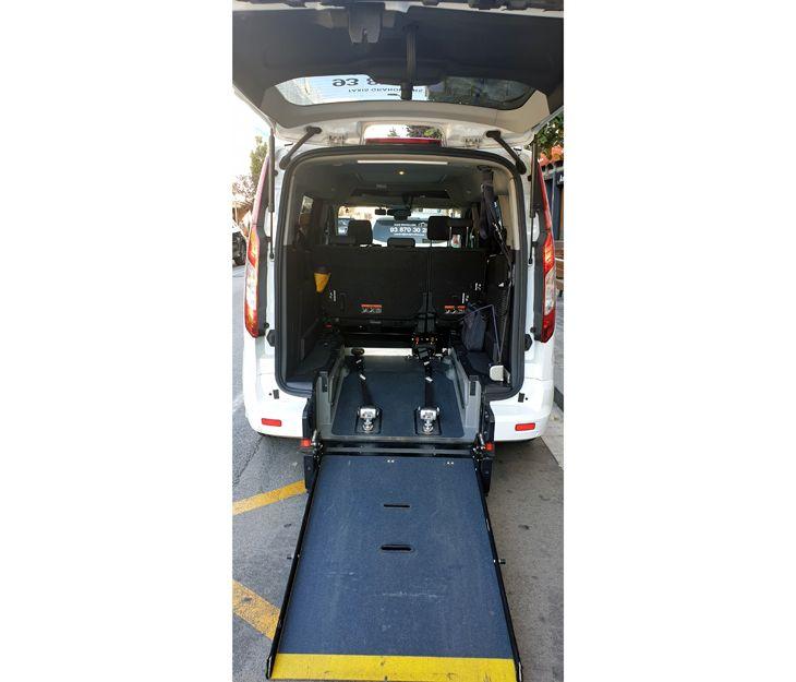 Servicio de taxi adaptado 24 horas en Granollers