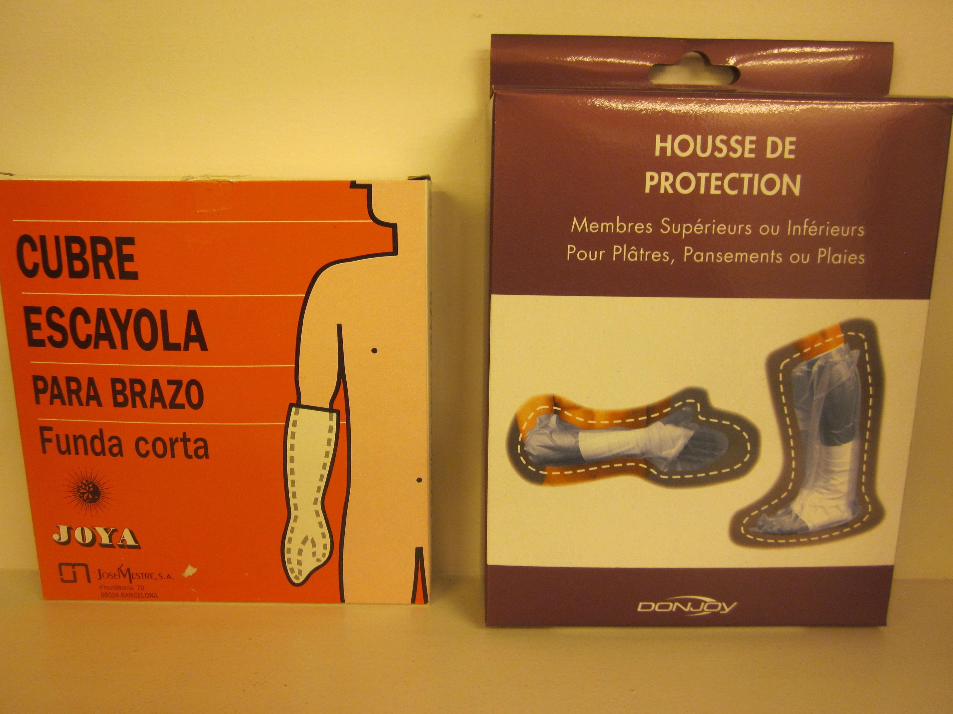 Protectores escayola: Catálogo de Ortopedia Crif