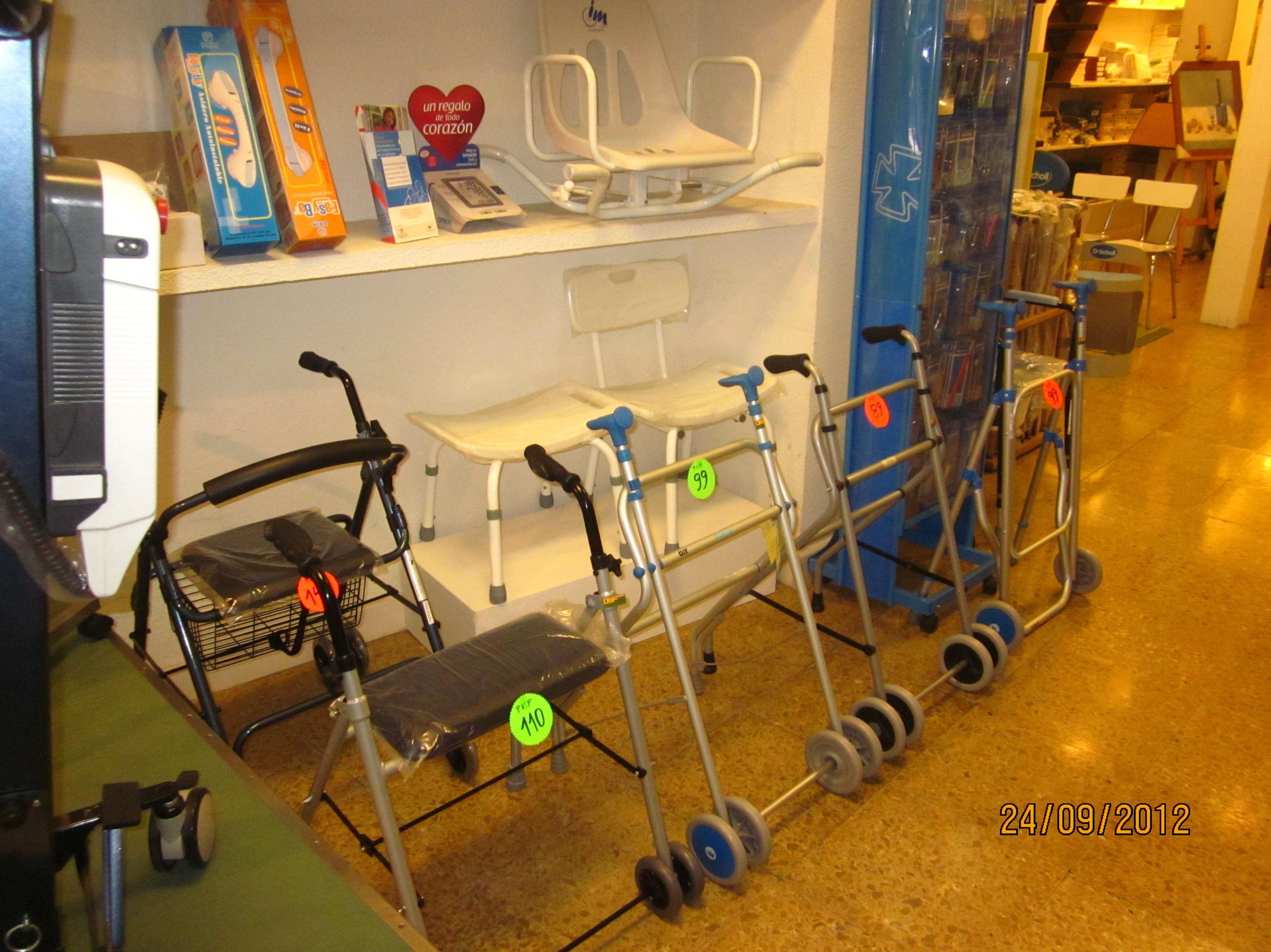 Artículos de ortopedia en Baleares