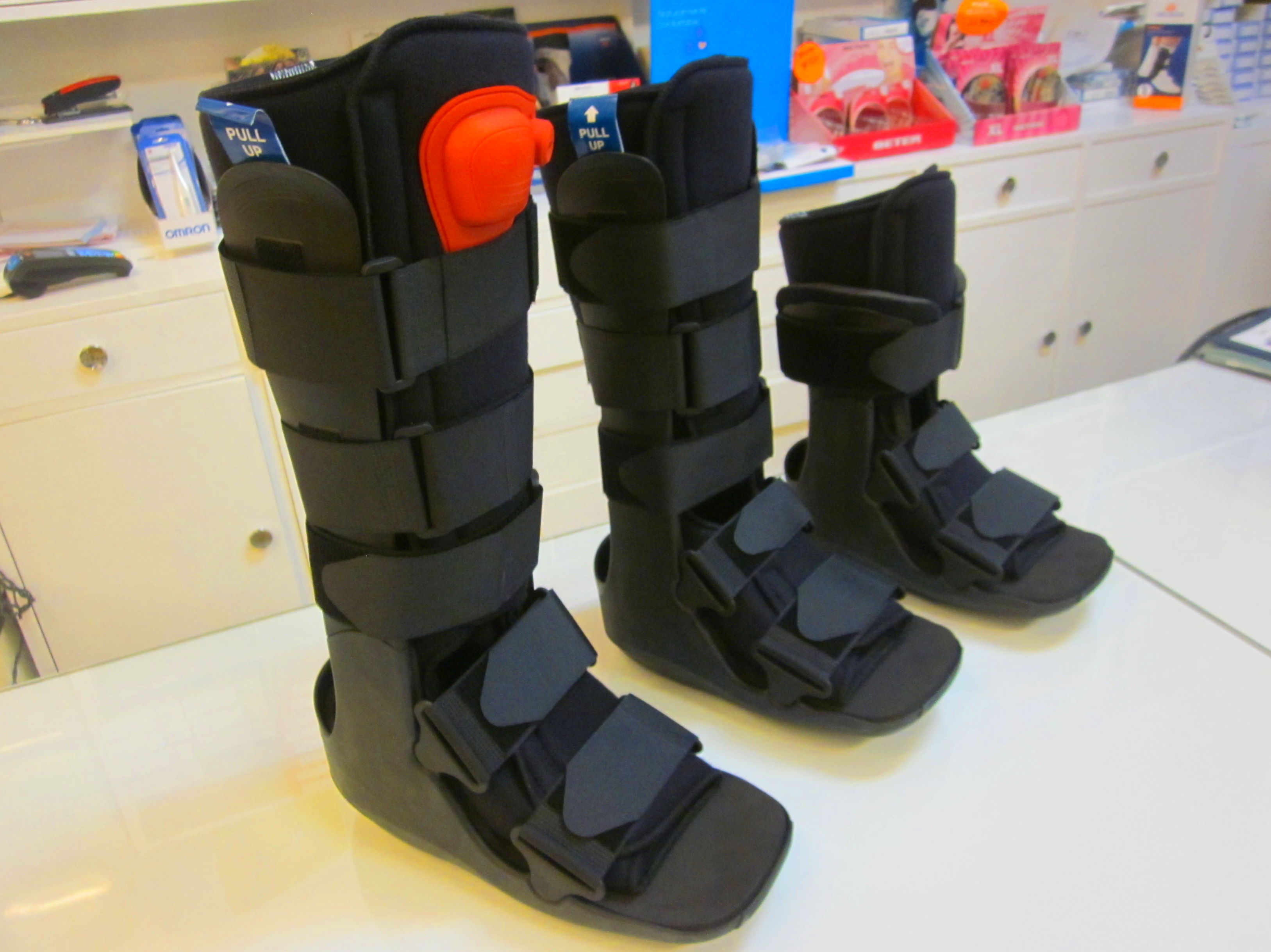 Botas Walker: Catálogo de Ortopedia Crif