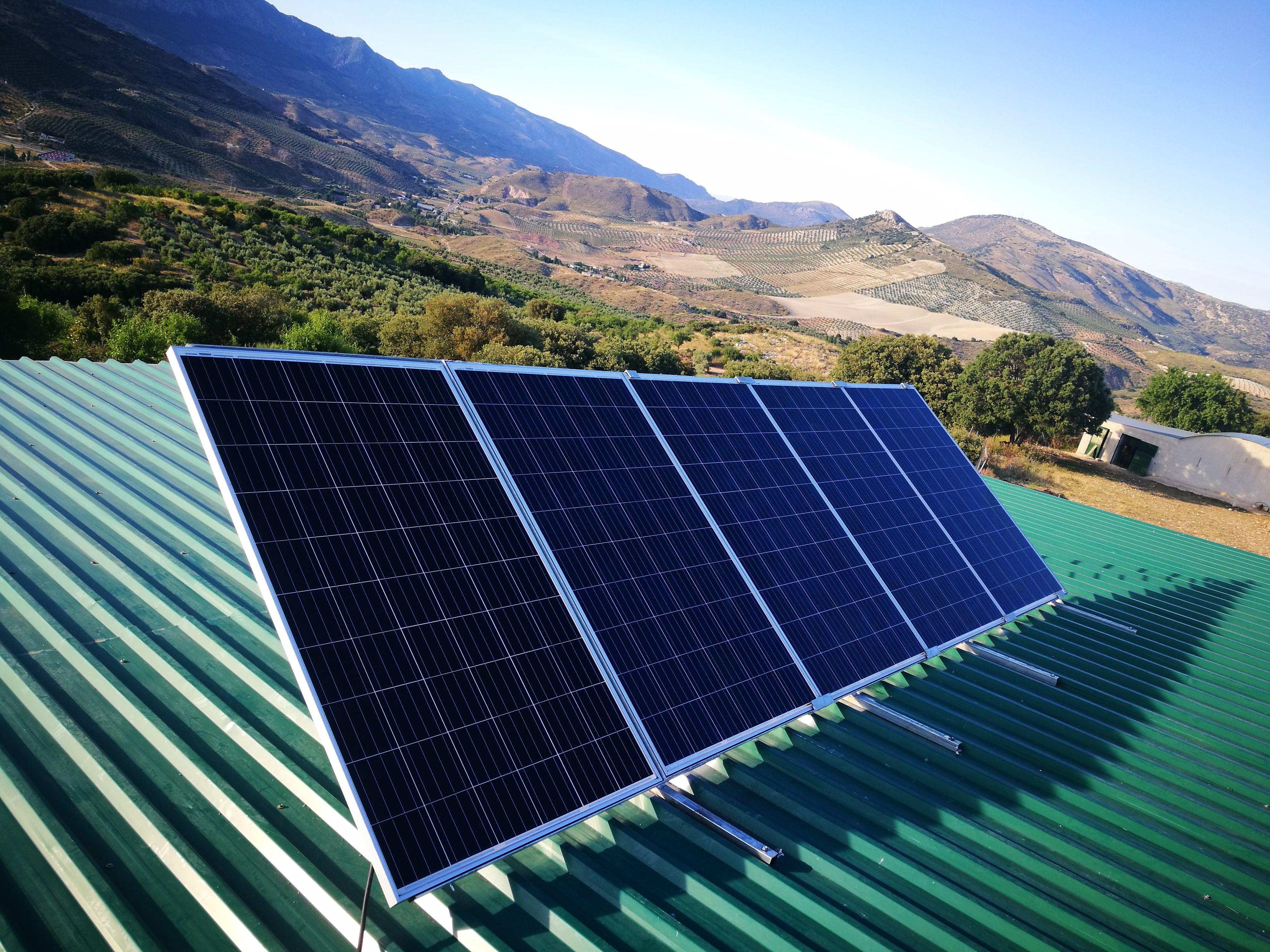 Energías renovables en Huelma, Jaén