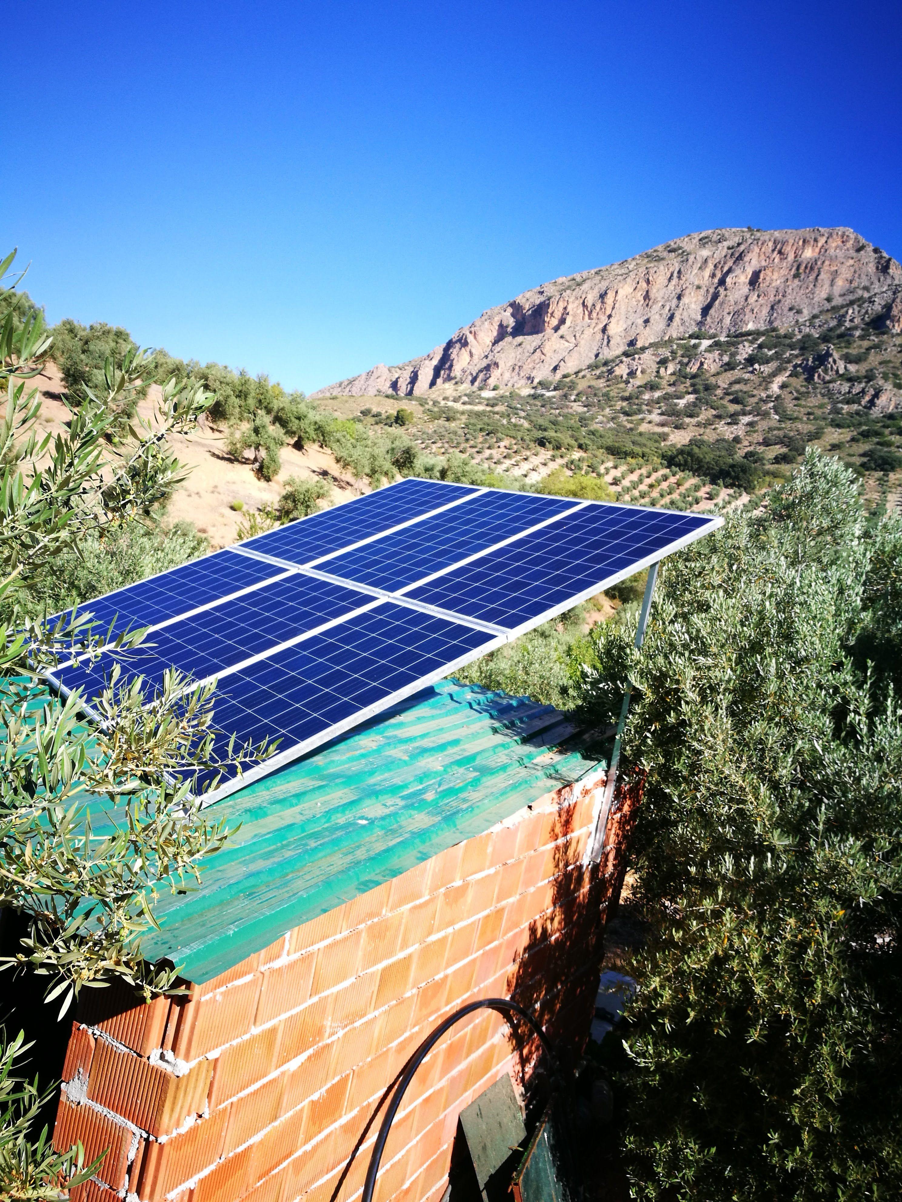 Energía renovable en Huelma, Jaén