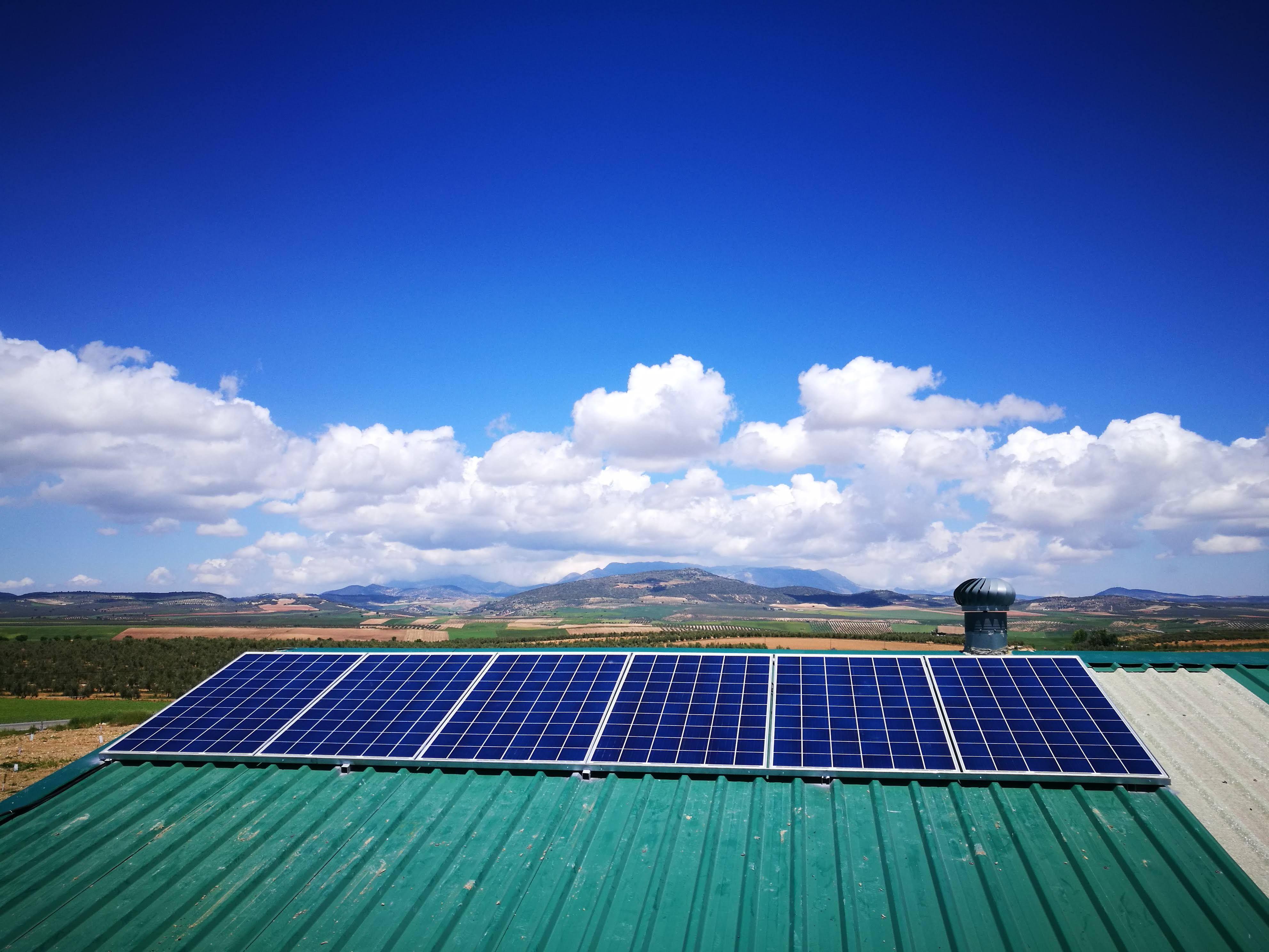 Energía solar en Huelma, Jaén
