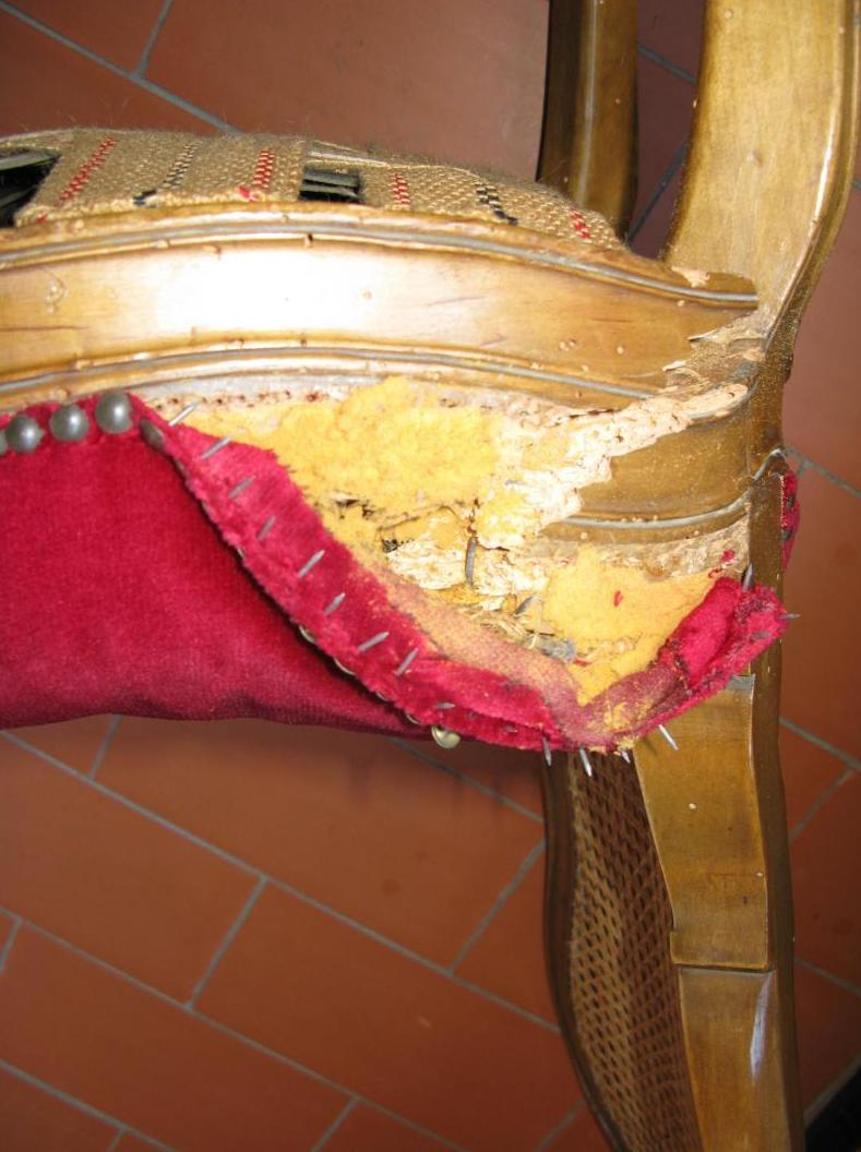 Rotura asiento