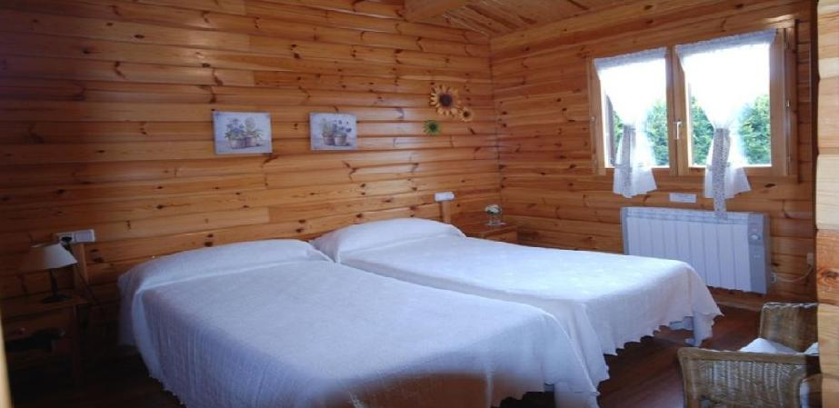 Habitaciones dobles: Catálogo de Cabañas Quercus Apartamentos Turísticos