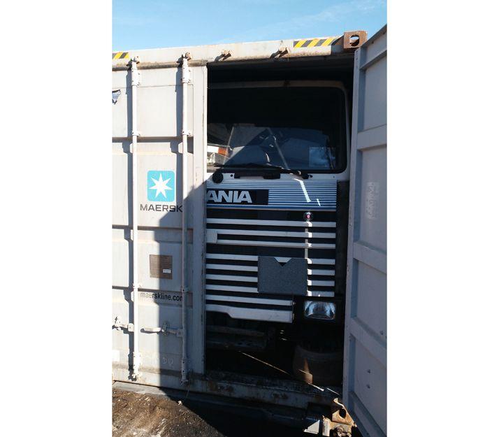 Envío de camiones de segunda mano a Paraguay