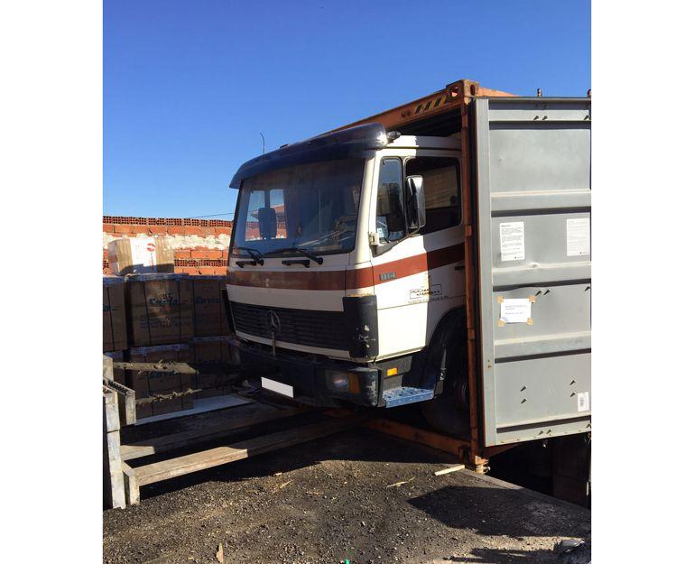 Envío de camiones España Paraguay