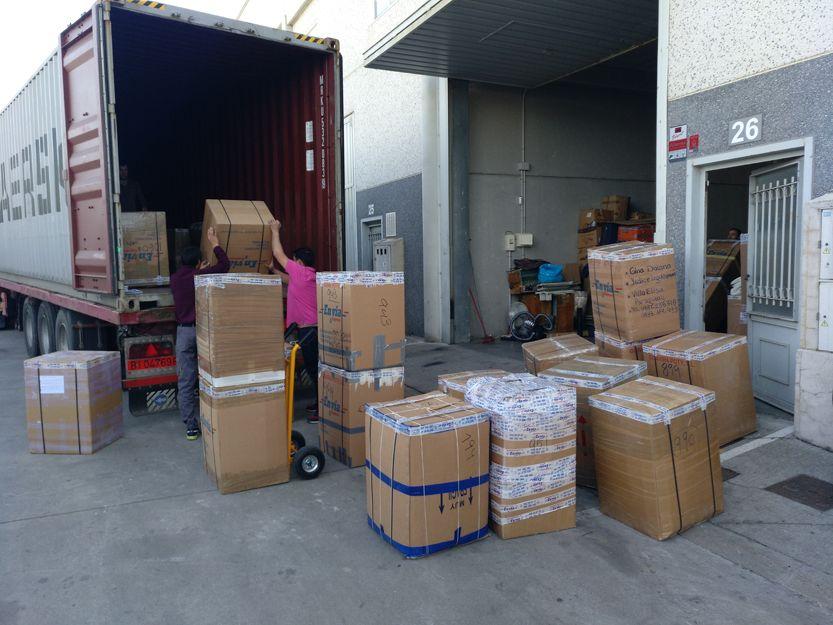 Envío de cajas Galicia Paraguay