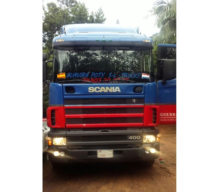 Importación y exportación de camiones España Paraguay