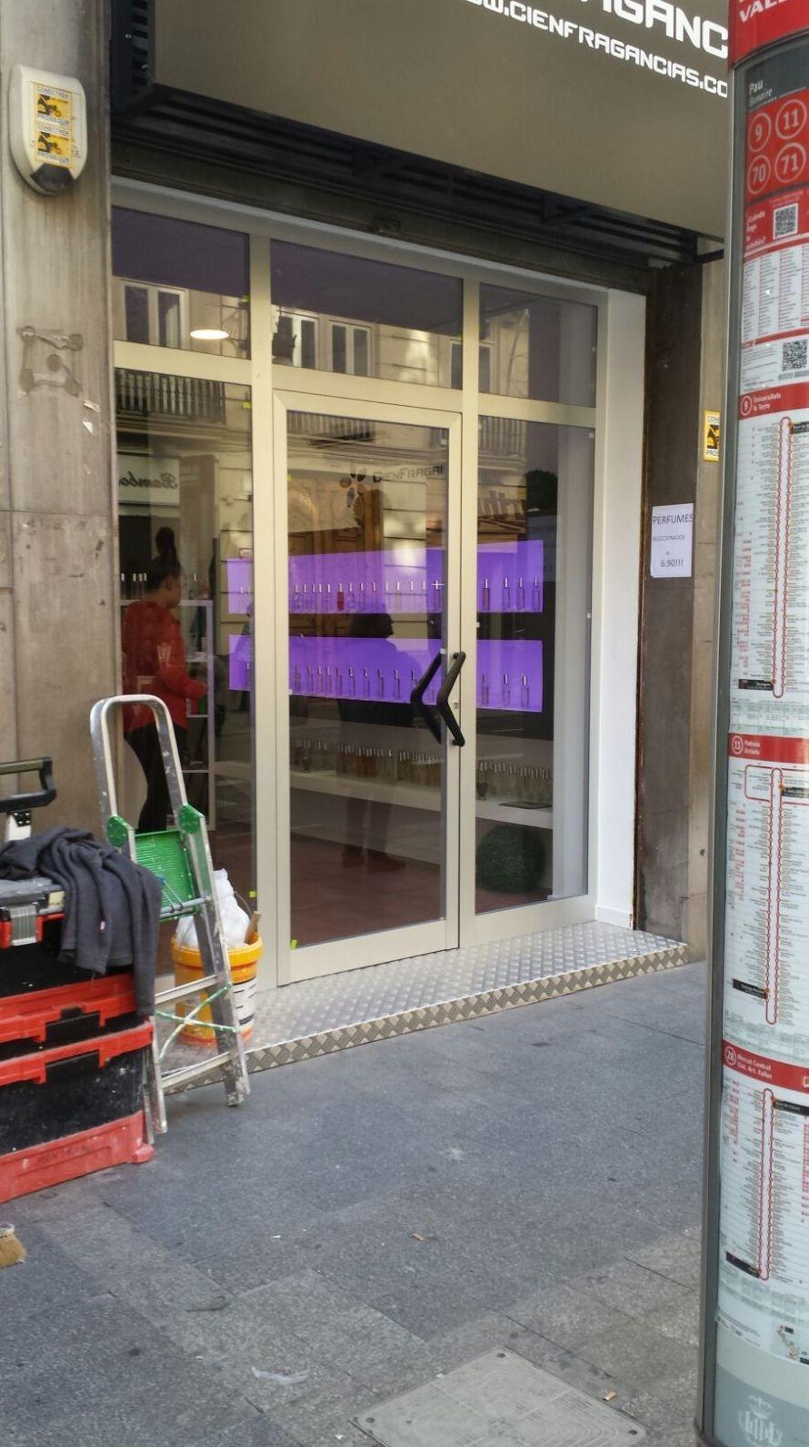 Puertas y cierres para locales comerciales