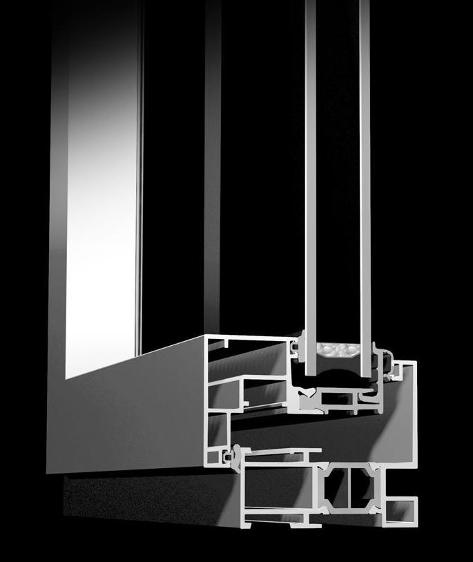 Ventanas de aluminio K-Line: Catálogo  de Cerramientos Monteval