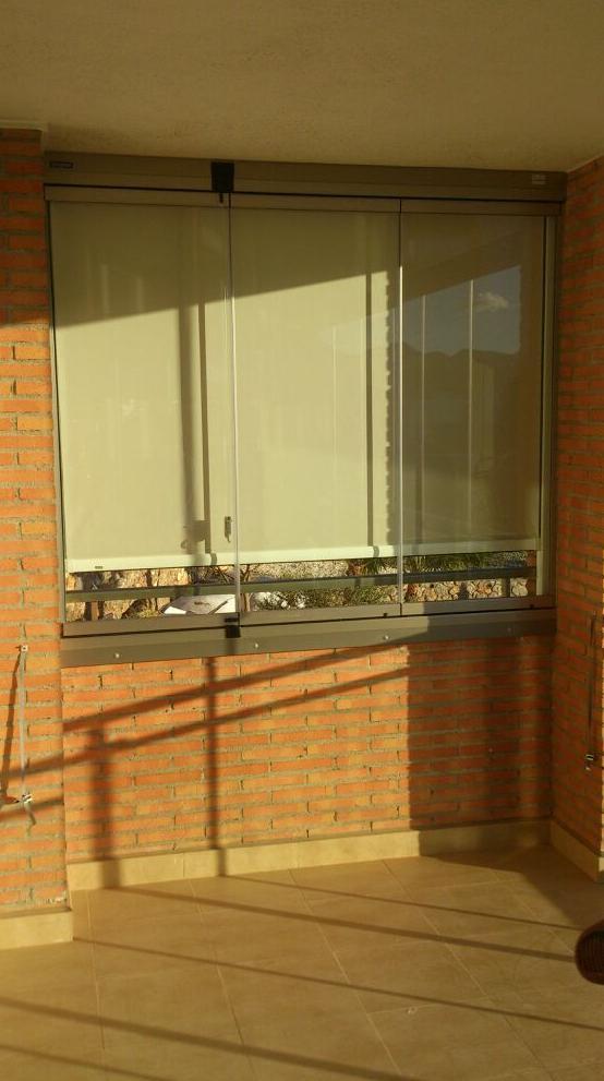 Cortina Screen de cremallera para exteriores