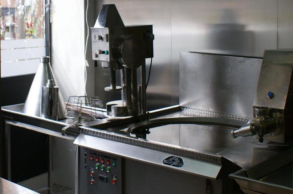 Cocina de la churrería