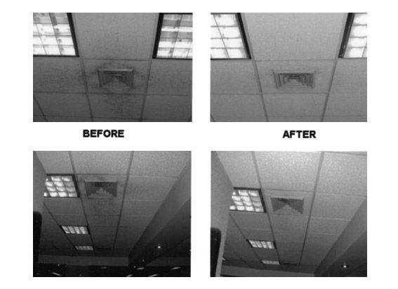 Limpieza de falsos techos: Servicios de Fumigaciones J.M.S.