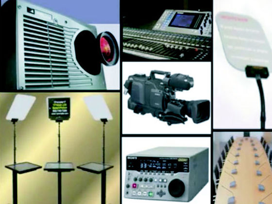 Alquiler de equipos audiovisuales para eventos