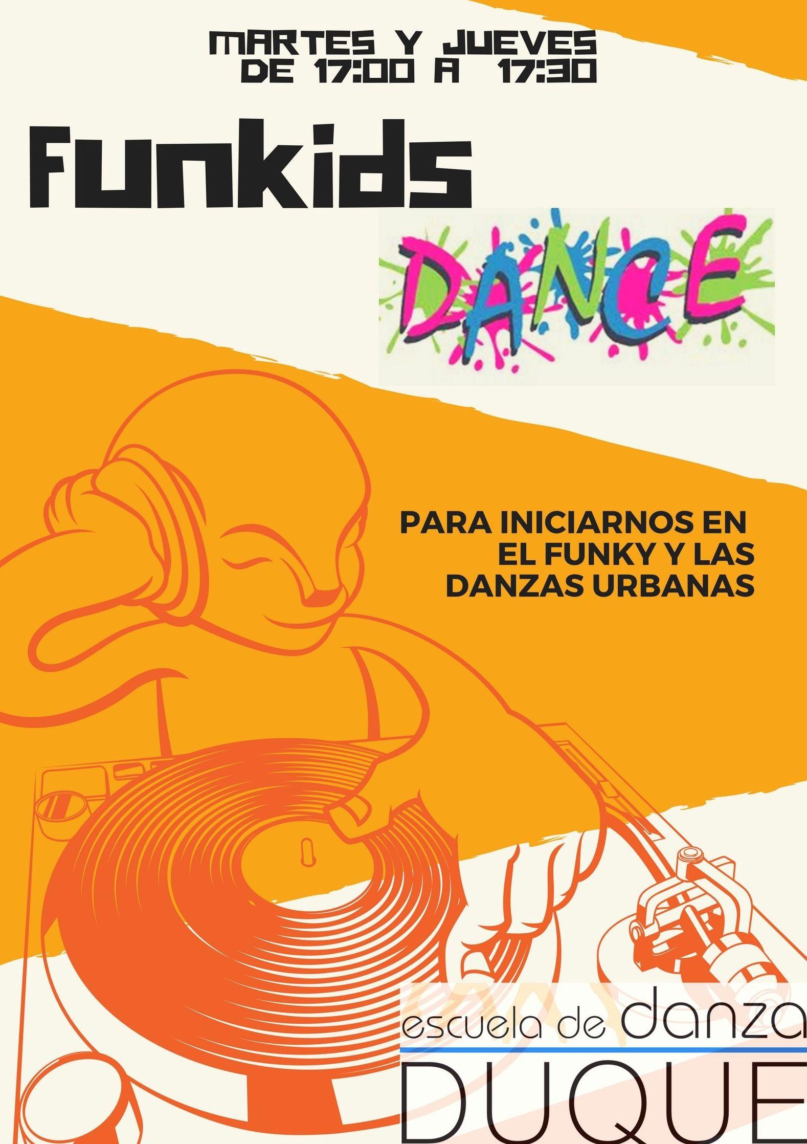 Funkids: Clases de Escuela de Danza Duque