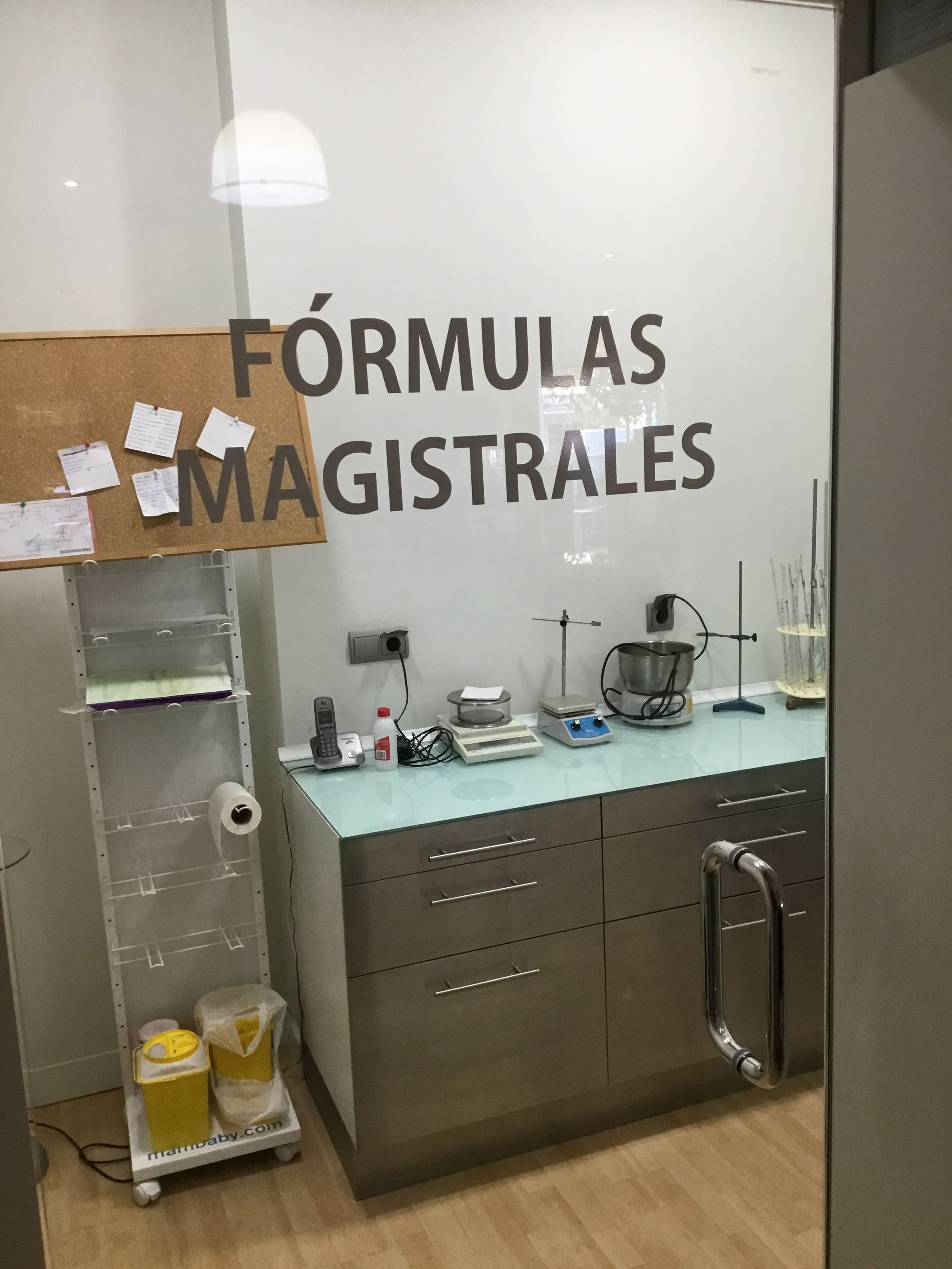 Fórmulas magistrales en San Jerónimo, Sevilla