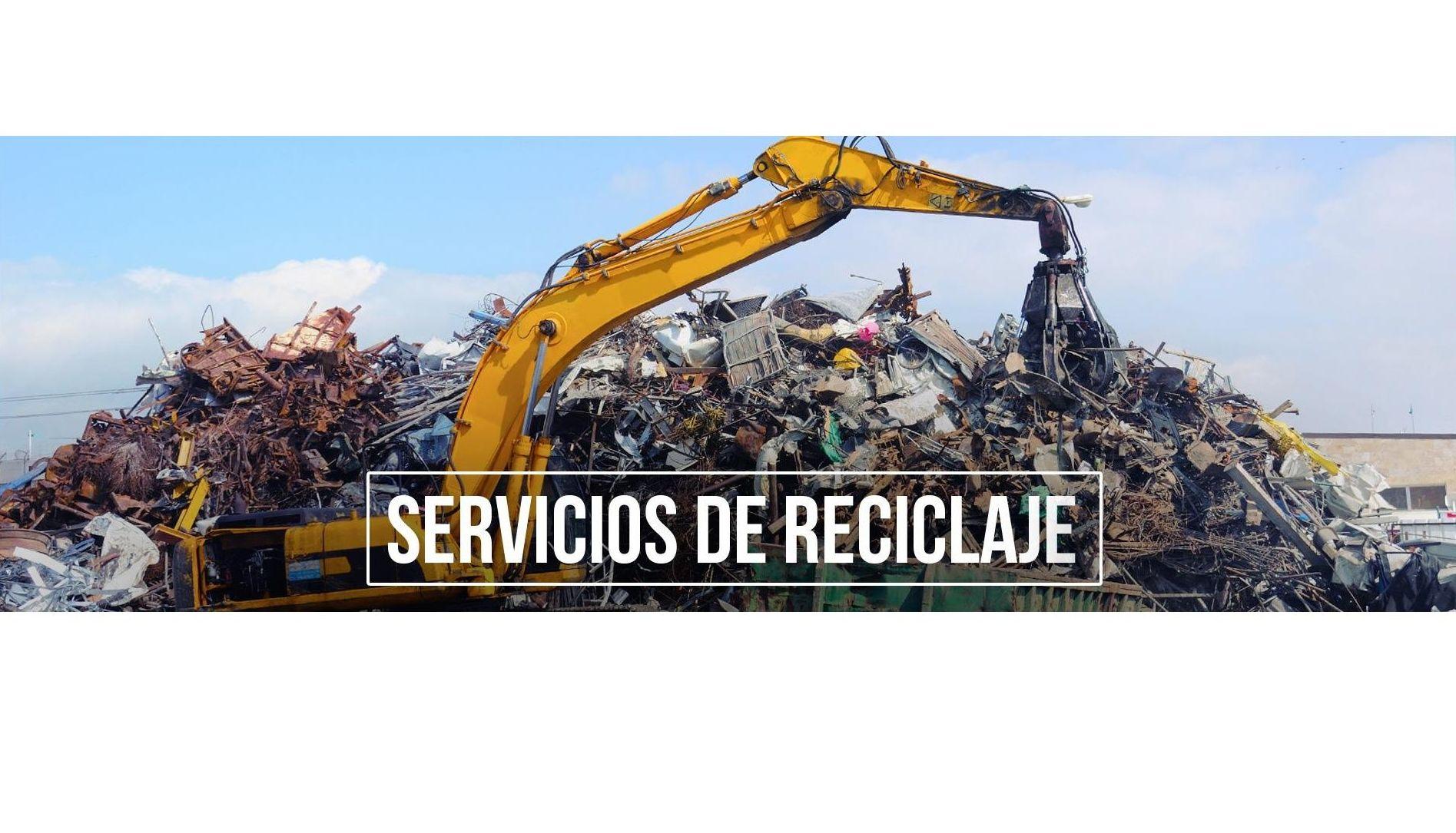 Reciclaje y gestión de residuos: Servicios de Reciclajes Epa