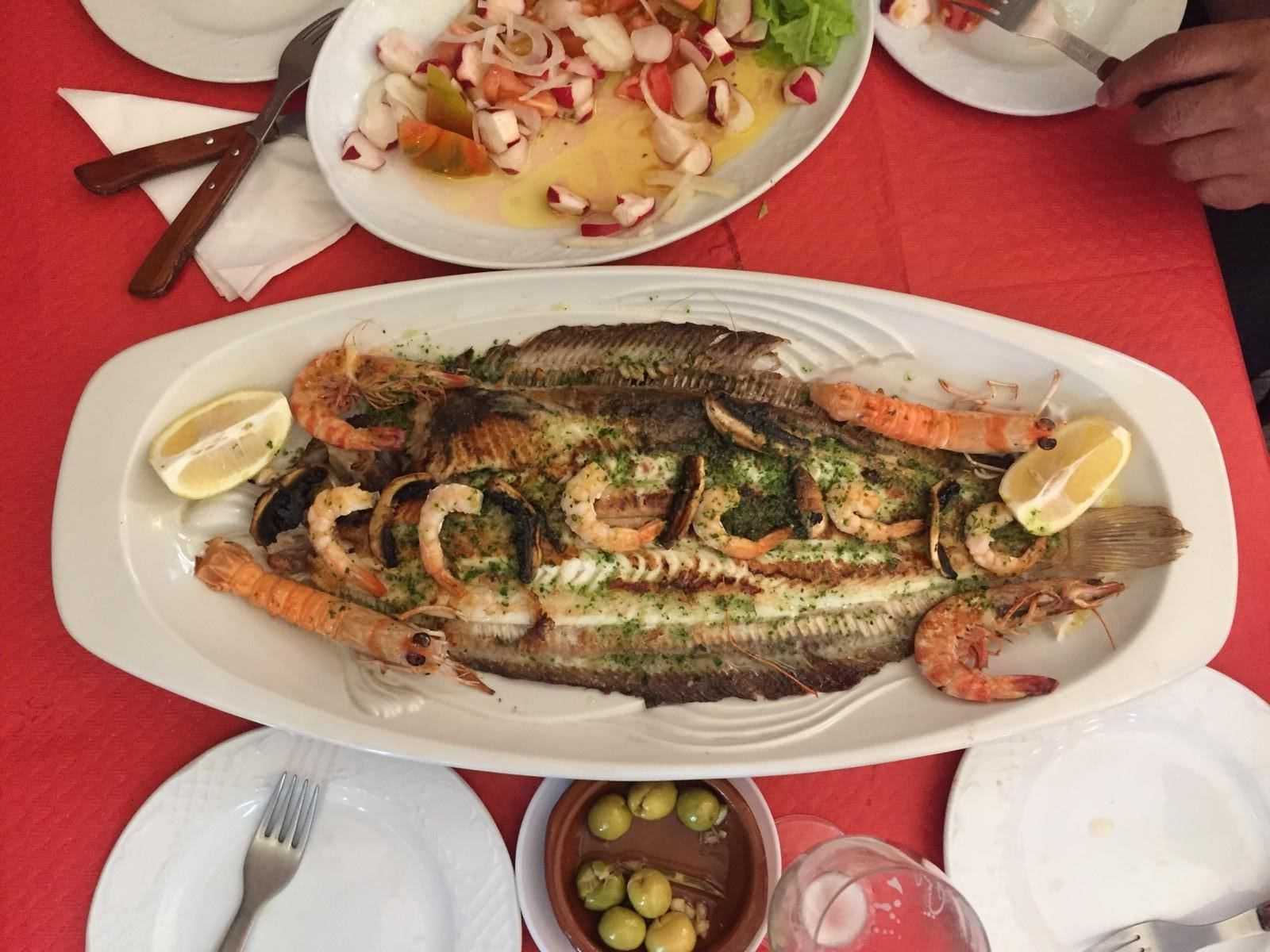 Pescados: Carta de Cafetería Bar El Parnaso