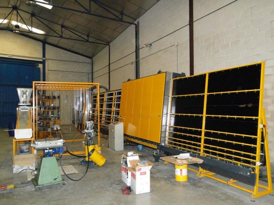 Fabricación de vidrio de seguridad
