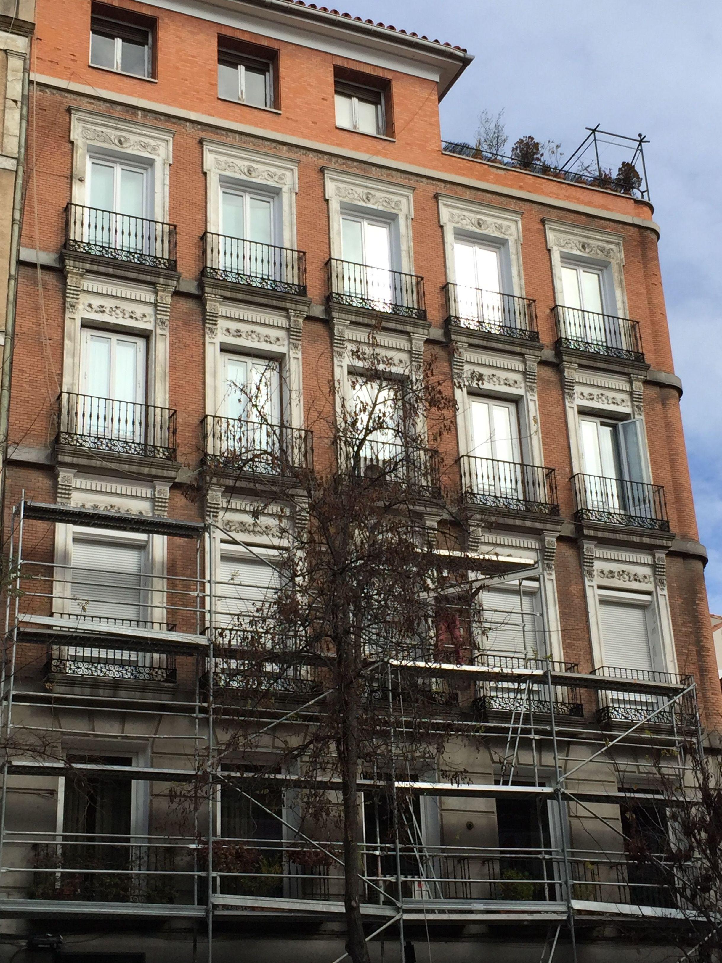 Alquiler y montaje de andamios en Madrid sur