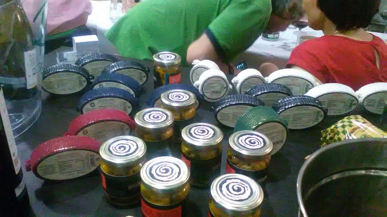 Venta de productos típicos malagueños