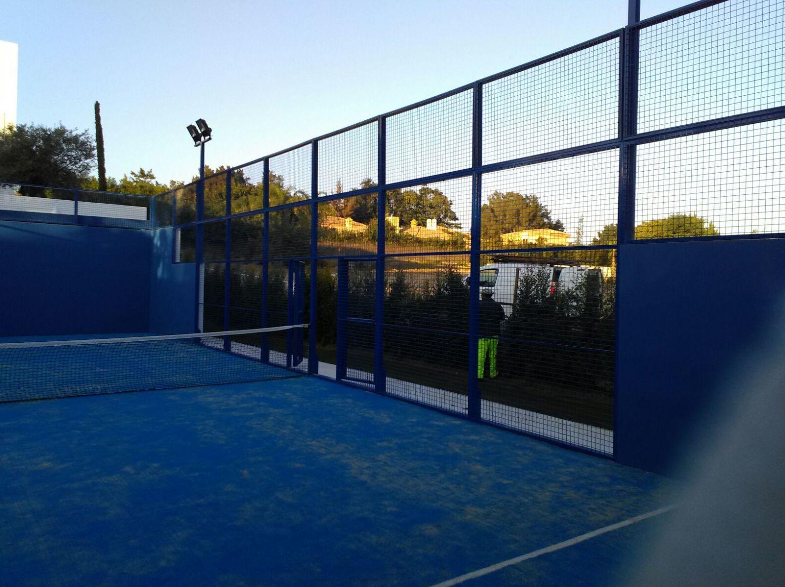 Cerramiento instalaciones deportivas Utrera Sevilla