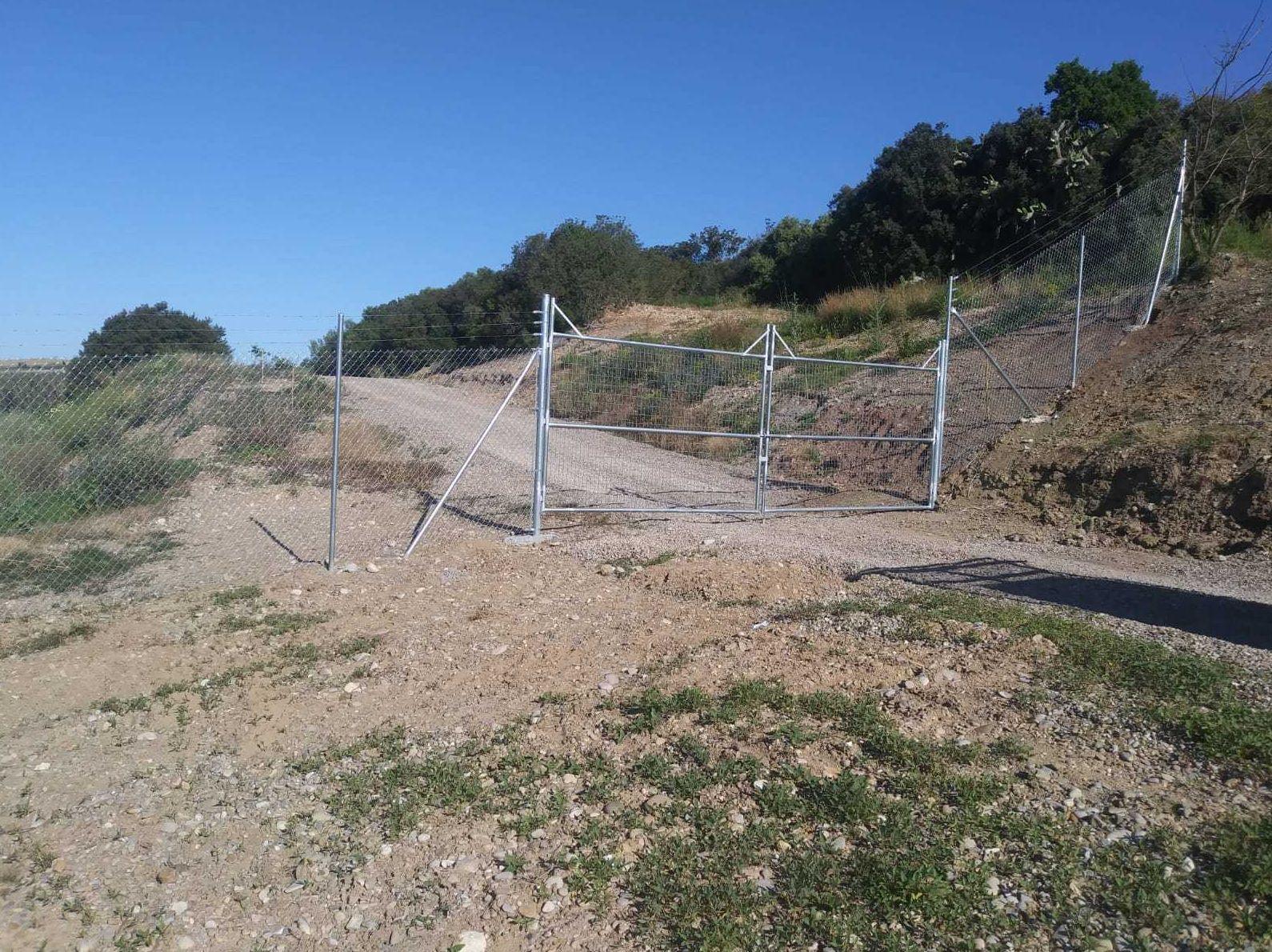 Instalación alambradas en terrenos rurales