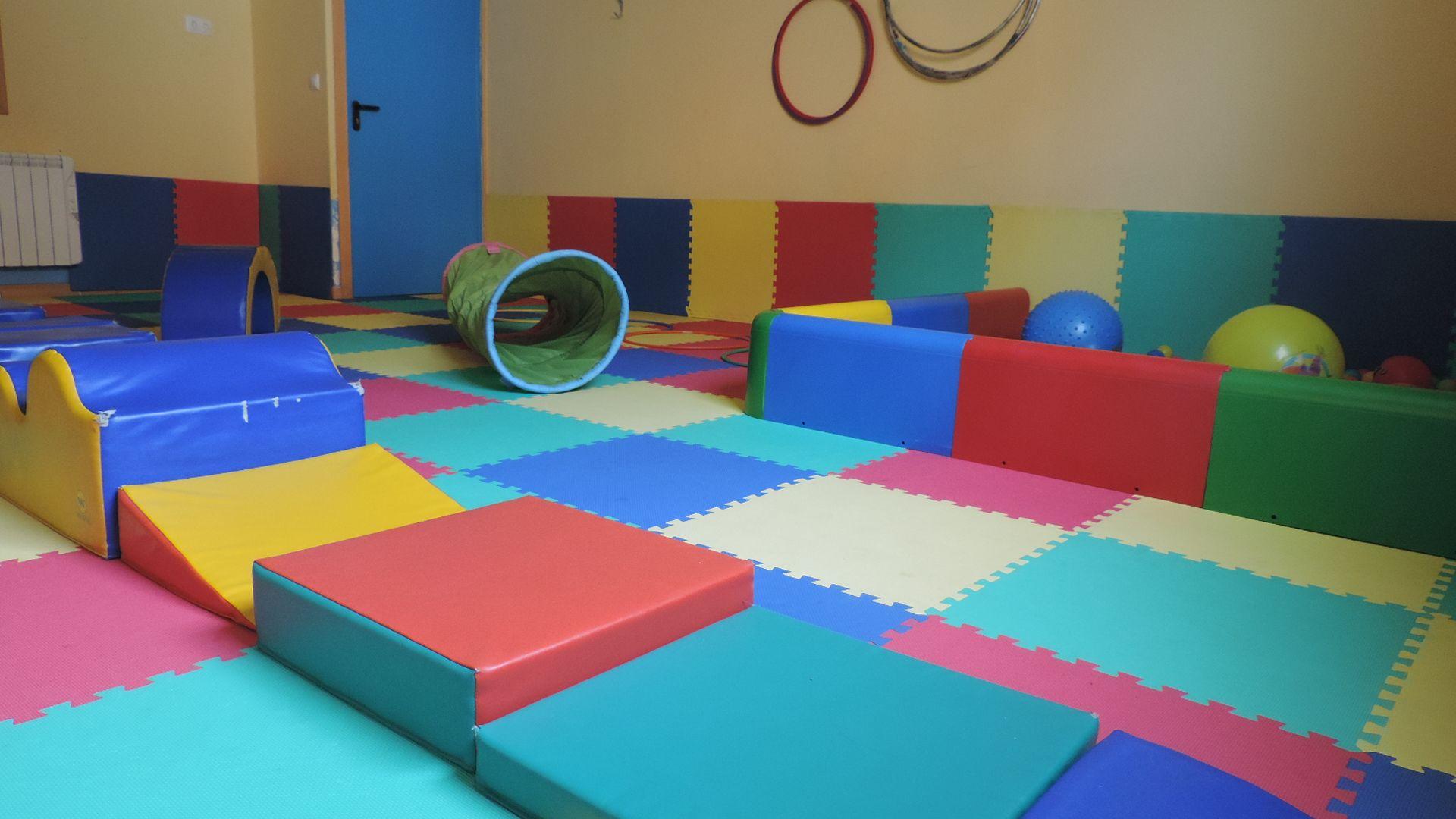 Aula de psicomotricidad de la escuela infantil